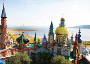 Экскурсия в Свияжск и Храм Всех Религий из Казани